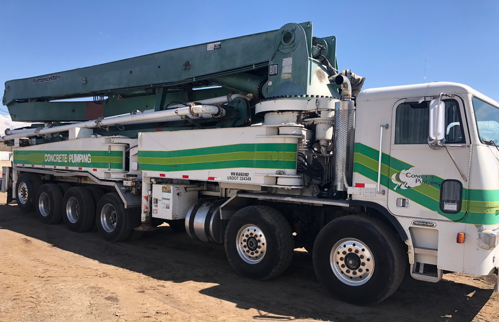Factors to consider when buying used concrete pump truck